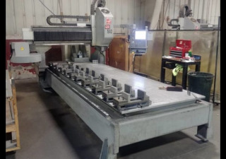 Used 2008 Haas Gr-512 Cnc Gantry Router, 5′ X 12′ Table