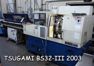 CNC Swiss Tsugami BS32C-II