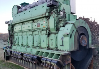 2 x Ulstein Bergen Diesel BRG 6 For Sale