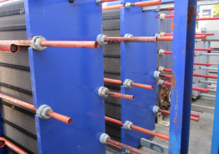 Alfa Laval 316 Stainless Steel Plate Heat Exchanger Unused
