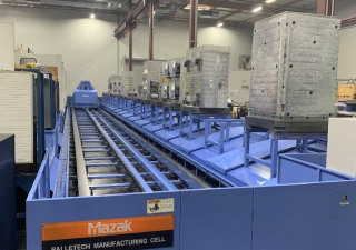 Mazak FH-1080 Horizontal Machining Center - 3 Machine Cell