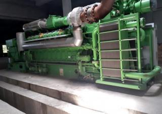 Unused Biogas Engine Generator Jenbacher Type Jms320Gs-Sl