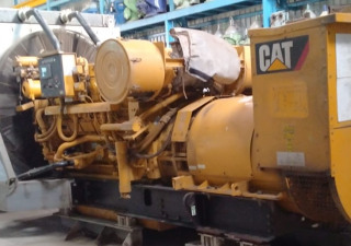 Caterpillar 3512B Low Running-1354hrs since original, Year 2012 Radiator Cooled Diesel Generator set For Sale in India