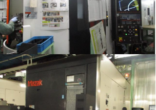 Mazak Variaxis i-600's with HSK taper and pallet changer