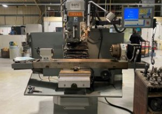 Tryax B6Fc Cnc Bed Mill (2000) With 4Th Axis