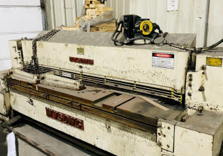 "8' X .250"" Wysong 825 Mechanical Shear. Stock # 1161120"