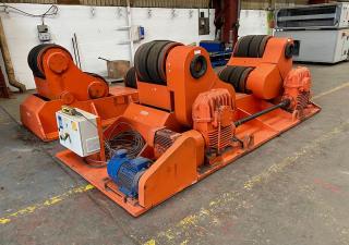 Used Bode 120 Tonne Self Aligning Rotators