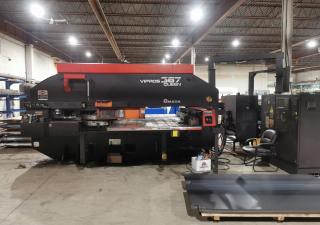 Amada Vipros 367 Q CNC Turret Punch Press
