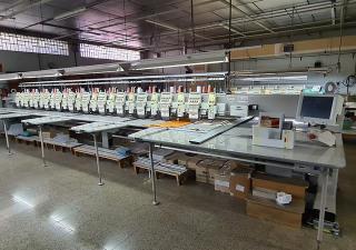 SWF TA-WL912-100 Embroidery machine