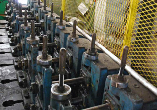 10 Stand Yoder Rollformer, Spindle Diameter: 1-1/2""