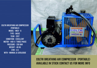 Coltri breathing air compressor (Portable)