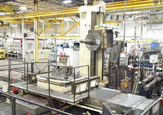 "Kearns & Richards 4.92"" 5-Axis CNC Table Type Horizontal Boring Mill"