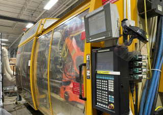 Used 600 Ton Husky Gl600Gen Rs100/85 Injection Molding Machine