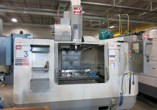 """Centre d'usinage vertical CNC Haas Vm3 """"Mold Maker"""", nouveau 2006"""
