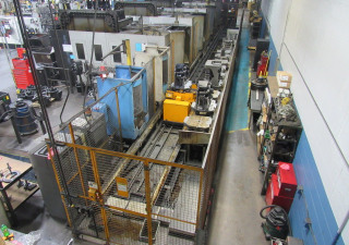 Toyoda FMS System with (4) FH-550R Horizontal Machining Centers