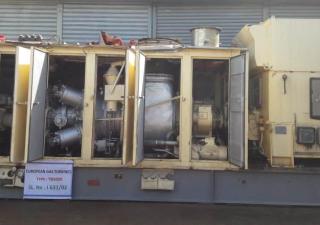 European Gas Turbine TB 5000 Generator set