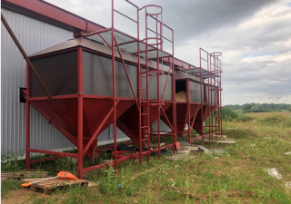 New built Biomass station equipment