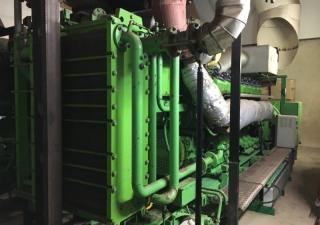 2 x 2000 kW Gas Power Plant Jenbacher JMS 616 GS-C05 (GAS64719)