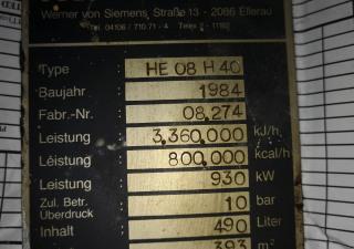 German Origin HE08 H40