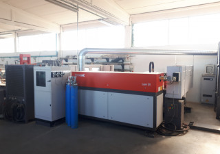 Used BYSTRONIC BYSTAR 3015 co2 laser cutting machine