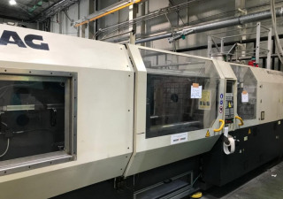 Demag 330t 710 1450 System Injection moulding machine