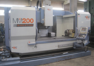 Used Famup MMV 200 EVOLUTION Machining center - vertical