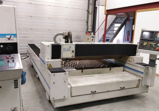 HACO 3000x1500 laser cutting machine
