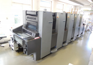 Heidelberg SM 52-5-P Offset five colours