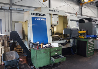 Hurco VMX50 X/Y/Z 1270 x 660 x 610 mm with 10.000 Rpm