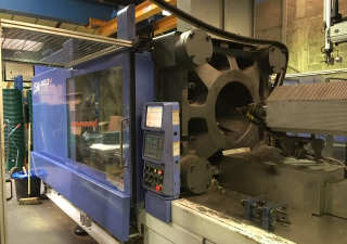 JSW 450T EL III 1400 H Injection moulding machine
