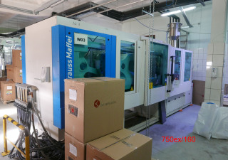 Krauss Maffei EX 160-750 fully electric injection moulding machine