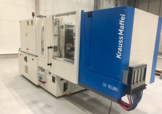 Krauss Maffei KM 110 – 380 CX Injection moulding machine