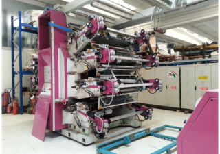Flexographic Printing Line Uteco Amber 808
