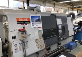 MAZAK INTEGREX 300 SY Multispindle automatic lathe