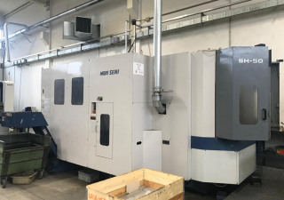 Used MORI SEIKI SH-50 Machining center - horizontal
