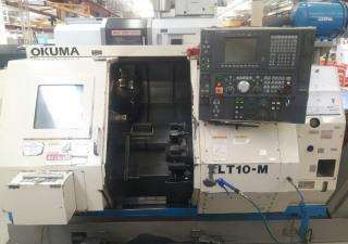 Used Okuma Lt10m cnc lathe