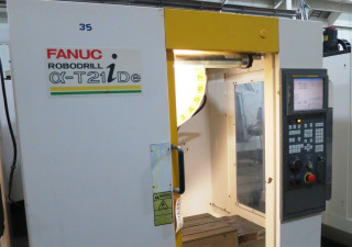 FANUC ROBODRILL ALPHA T21IDE 3-AXIS VERTICAL DRILL TAP MACHINING CENTER