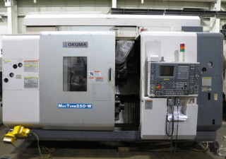 OKUMA MACTURN 250W 9-AXES CNC TURN MILL CENTER LATHE