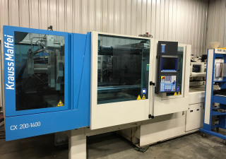 Krauss Maffei KM 200/1400 C2 Injection moulding machine