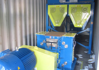 Ring'R 2 Tonnes heure Wood chipping machine