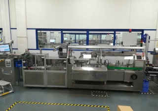Romaco AS300 Cartoning machine