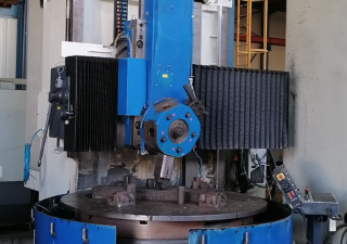 Stanko 1516 vertical turret lathe with cnc