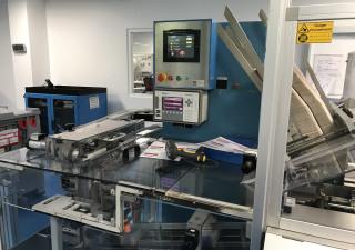 Uhlmann C100 Cartoning machine