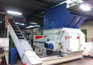 Vecoplan VAZ1600 Wood chipping machine