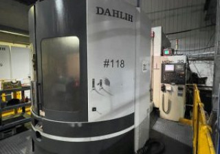 Dahlih Dl-Mch630 Horizontal Twin Pallet Machining Centre (2011)