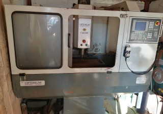 CNC milling machine OPTIMUM F 100 CNC