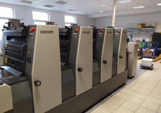 Offset printing press KOMORI LITHRONE 420