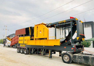 MCK-115 MOBILE CRUSHING & SCREENING PLANT | 180-300 TPH