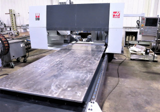 121inc 61inc 11inc XYZ Haas GR510 CNC Router, Year 2014 w/ CT40Taper, 10000RPM, rigid