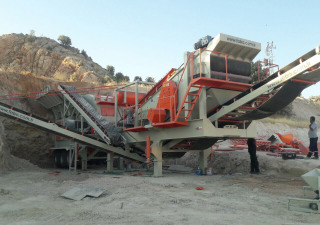 Fabo PRO-180 MOBILE CRUSHING & SCREENING PLANT | BIGGEST CAPACITY